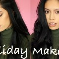 SOFT-GOLD-HOLIDAY-MAKEUP-LOOK-Full-Face-Talk-Thru-Tutorial