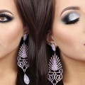 Silver-Glitter-Holiday-Smokey-Eyes-Make-Up-Tutorial-Melissa-Samways