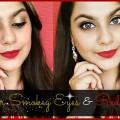 Smokey-Eyes-Red-Lips-WEDDING-MAKEUP-LOOK-ARTI-AGARWAL
