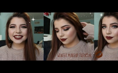 Winter-Makeup-Tutorial-Deep-Lips-Modern-Renaissance-PaletteBeauttybyemm
