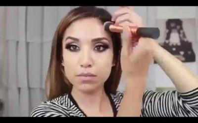 Best-Glam-Smokey-Brown-Eyes-Makeup-Tutorial-English-2017