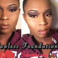 FLAWLESS-FULL-COVERAGE-FOUNDATIONACNE-PRONE-SKIN-DARK-skin-women