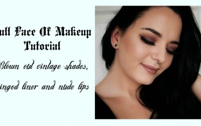 Full-Face-Makeup-Tutorial-Blown-Out-Vintage-Eyes-Nude-Lips-Bella-Beauty-Blogger
