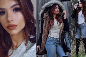 Get-Ready-With-Me-Everyday-Winter-Outfit-Idea-Simple-Makeup-Hair