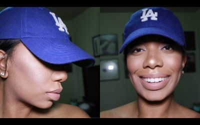Makeup-When-Wearing-A-Hat