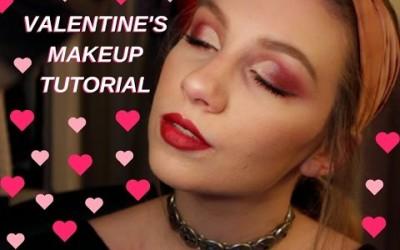 Pink-Smokey-Eye-Valentines-Day-Makeup-Tutorial