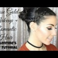 Rose-Gold-Valentines-Day-Makeup-Romantic-Hair-Tutorial