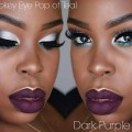 SILVER-SMOKEY-EYE-POP-OF-TEAL-PURPLE-MATTE-LIPS-MAKEUP-TUTORIAL-2017-Janielle-Wright
