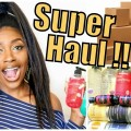 SUPER-MEGA-HAUL-HAIR-NATURAL-SKINCARE-BEAUTYCON-BOX-MORE