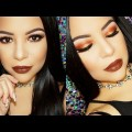 Smokey-Winter-Bronze-Eyes-Full-Face-Makeup-Tutorial-