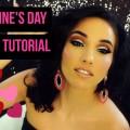 Valentines-Day-Makeup-Tutorial-GLITTER-CUT-CREASE