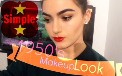 Wearable-1950s-inspired-makeup-look-Winged-liner-and-red-lips-ZOEVA-Cocoa-Blend-palette