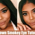 BROWN-SMOKEY-EYE-Morphe-35O-Makeup-Tutorial-