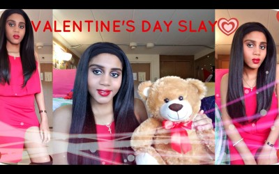 How-To-SLAY-For-Valentines-Day-l-Makeup-Hair-Outfit-l-Ft-Focallure-l-Malya-Tamar-