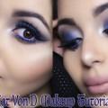 Kat-von-D-mon-avis-sur-la-marque-Blue-Smokey-Eyes-Makeup-Tutorial