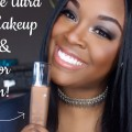Lancome-Ultra-24hr-Foundation-Review-Demo-for-dark-skin-full-face-makeup-tutorial