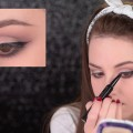 Neutral-Smokey-Eye-Red-Lips-Makeup-Tutorial-1