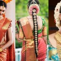 South-Indian-Bridal-Saree-Draping-with-Bridal-Makeup-Bridal-Hairstyle-Step-By-Step-Marriage-Makeup