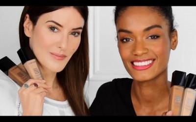 The-power-of-foundation-tutorial-Tips-on-how-to-apply-foundation-by-Lisa-Eldridge-with-Lancme