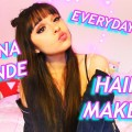 Ariana-Grande-Everyday-Music-Video-Hair-and-Makeup-chatty-video
