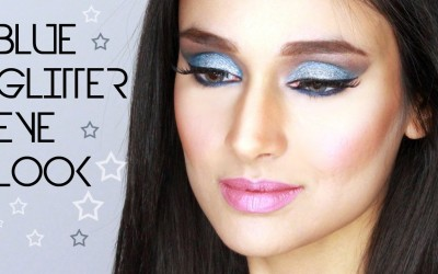 BLUE-GLITTERY-EYES-shimmery-blue-makeup-look