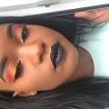 Cut-Crease-Bright-Colourful-Makeup-Tutorial-Black-Lips-Spring-makeup-tutorial