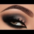 Dramatic-Black-Pink-Champagne-Smokey-Eyes-Makeup-Tutorial-Melissa-Samways