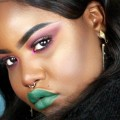 EASY-PINK-EYE-GREEN-LIPS-I-FULL-FACE-MAKEUP-TUTORIAL-I-NAMGLAM