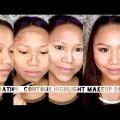 Foundation-Contour-Highlight-Makeup-Routine-Roxette-B