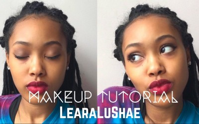 No-foundation-makeup-tutorial-learalushae