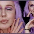 Wet-n-Wild-Brush-Demo-Purple-Magical-Unicorn-Dust-Makeup-HiddenRachel