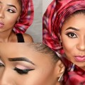 makeup-and-gele-tutorial-Nigerain-wedding-guest-out-fit