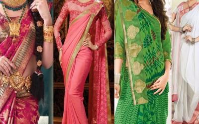 5-Different-Ways-of-Wearing-Saree-For-Wedding-to-Look-Slim-Tall-Tips-Ideas-to-Drape-Saree-Pallu