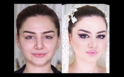 Amazing-Bridal-Makeup-Tutorial-Makeup-Transformation