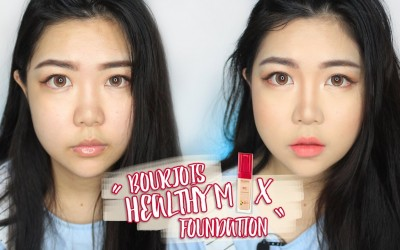 Bourjois-Healthy-Mix-Foundation-Concealer-First-Impression-Review-Test-theChency