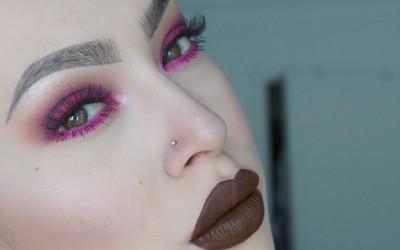Brown-Lips-Pink-Eyes