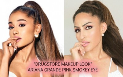 DRUGSTORE-CELEBRITY-MAKEUP-LOOK-ARIANA-GRANDE-PINK-NEUTRAL-MAKEUP-USING-ONLY-MAYBELLINE-PRODUCTS