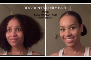 Dos-and-Donts-of-Naturally-Curly-Hair-Makeup-and-Hair-Demo
