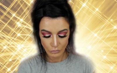 FESTIVAL-INSPIRED-MAKEUP-Glittery-Eyes-Lips