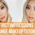 FIRST-IMPRESSIONS-ORANGE-MAKEUP-TUTORIAL-ft.-OFRA-x-Nikkie-Tutorials-Arika-Sato