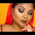 Galaxy-Halo-eyes-and-chocolate-lips-makeup-tutorial