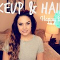 Kelsibbeauty-EASTER-MAKEUP-CURLY-HAIR-REVAMP