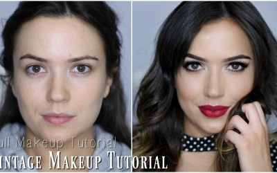 Makeup-Tutorial-Vintage-Glam-Makeup-Look-TheMakeupChair