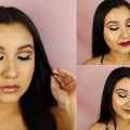 Neutral-Prom-Makeup-Tutorial-3-Lip-Options-Prom-2017