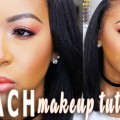 Peach-Monochromatic-Makeup-Trend-Tutorial-Collab-wJasmine-Airdelle-Fayy-Lenee-Beauty