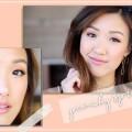 Peachy-Spring-Makeup-Tutorial-Eyelash-Relaunch-ilikeweylie