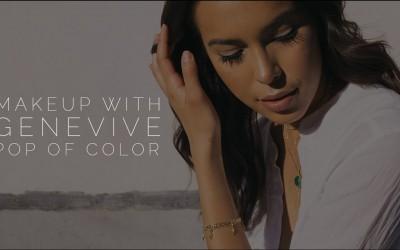 Pop-Of-Color-Makeup-Tutorial-Celebrity-Makeup-Artist-Genevieve-Lamb