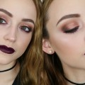 Rose-Gold-Vampy-Lips-Makeup-Tutorial