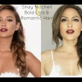 Shay-Mitchell-Teen-Choice-Awards-Hair-Makeup-Bold-Lips-Romantic-Braided-Hair