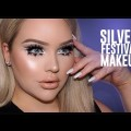 Silver-Glittery-Glowy-FESTIVAL-Makeup-Tutorial